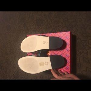 462d5c862d54 Tory Burch Shoes - Brand New Tory Burch Isle Slide Sheep Black